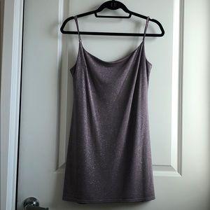 Nasty Gal Slip Sparkle Dress